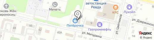 Баско Пати на карте Ревды