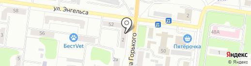 Денталика на карте Ревды