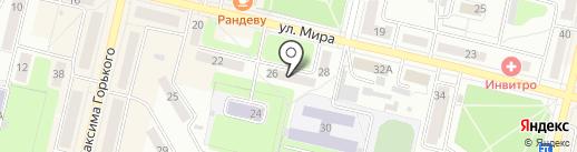 Центральная городская детская библиотека им. А.П. Гайдара на карте Ревды