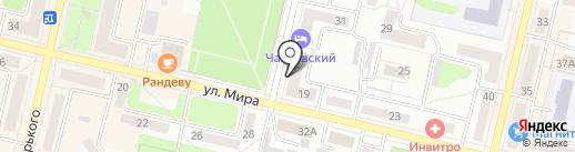 Дачник на карте Ревды