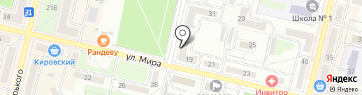 Свердловская птицефабрика на карте Ревды