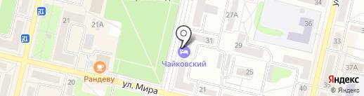 Центр здоровья на карте Ревды