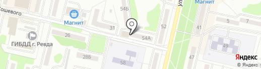 НИКА на карте Ревды