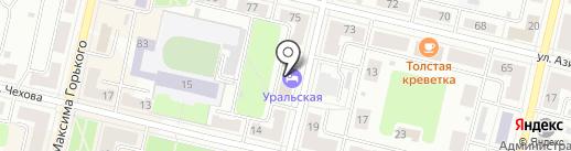 География на карте Ревды