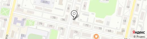 Алые паруса на карте Ревды
