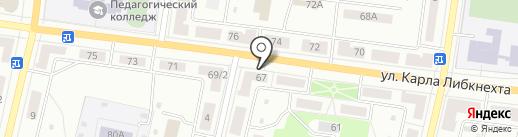 Строитель на карте Ревды