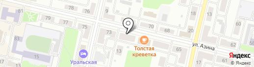 Компания по производству мебели на карте Ревды
