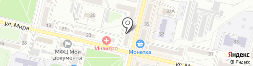 ЮНИЧЕЛ на карте Ревды