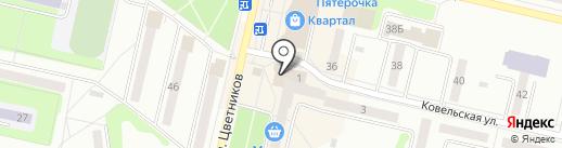 Банкомат, Уральский банк реконструкции и развития на карте Ревды