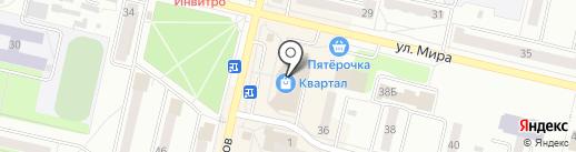 Корпорация Центр на карте Ревды