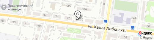Связь Телеком на карте Ревды