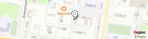Трансметалл на карте Ревды