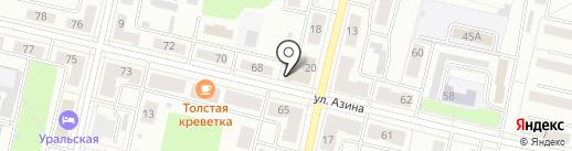 Департамент государственного жилищного и строительного надзора Свердловской области на карте Ревды