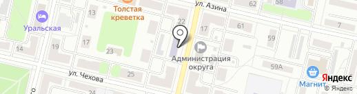 Детская музыкальная школа г. Ревды на карте Ревды