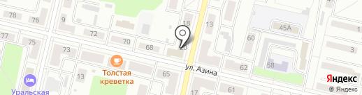 Отдел потребительского рынка на карте Ревды