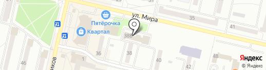 Управление Федерального казначейства по Свердловской области на карте Ревды