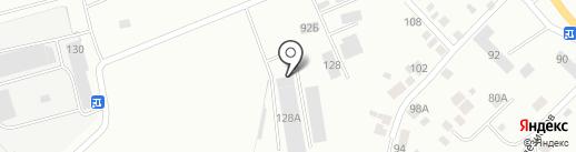 Сектор-ВК на карте Нижнего Тагила