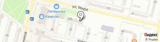 Уральский банк Сбербанка России на карте Ревды