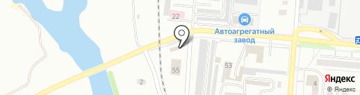 АВТОСЛОН на карте Первоуральска
