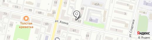 Нотариус Усова И.Ю. на карте Ревды