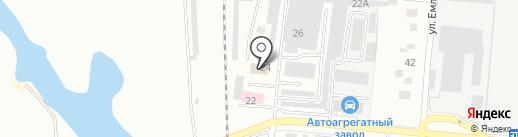 Мегавольт на карте Первоуральска