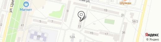 Сион на карте Ревды