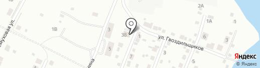 Барин на карте Ревды
