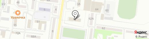 Судебный участок №2 на карте Ревды
