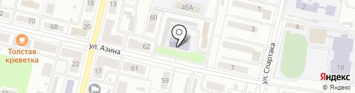 Еврогимназия на карте Ревды