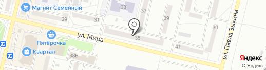 Адвокатская контора №2 на карте Ревды