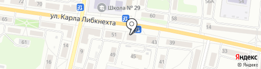 Максим на карте Ревды