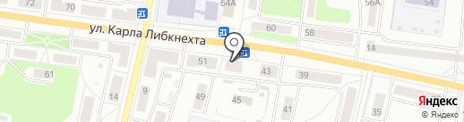 Валентина на карте Ревды
