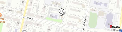 Автомойка на карте Ревды