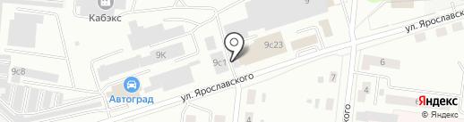 АВТОСЛОН на карте Ревды