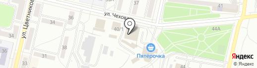 Колесо удачи на карте Ревды