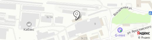 Новая автомойка на карте Ревды