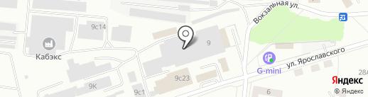 Мебельный салон на карте Ревды