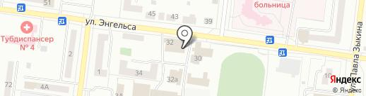 Управление административно-хозяйственного обеспечения городского округа Ревда, МКУ на карте Ревды