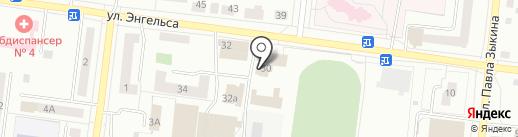 Красное & Белое на карте Ревды