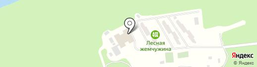 Лесная Жемчужина на карте Ревды