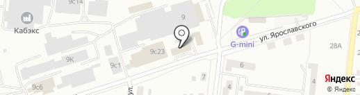 Капраловский на карте Ревды