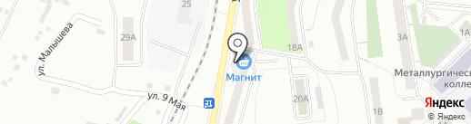 Продуктовый магазин на карте Первоуральска
