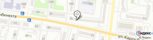 Магазин саморезов на карте Ревды