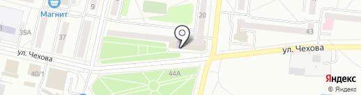 Городская библиотека №2 на карте Ревды