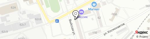 СДЮСШОР №3 им. А.А. Лопатина на карте Нижнего Тагила