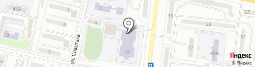 Средняя общеобразовательная школа №2 на карте Ревды