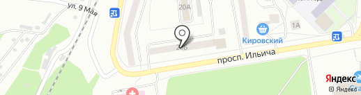 Отдел вневедомственной охраны на карте Первоуральска