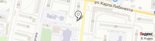Мастер пошива на карте Ревды