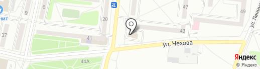 Почтовое отделение №1 на карте Ревды