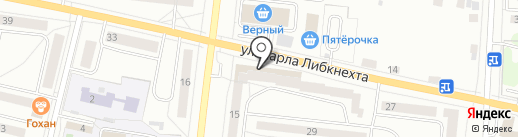 Живика на карте Ревды
